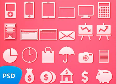 49 Icons PSD by Seevi