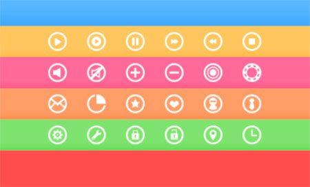 Circle Icons by Tomas Korosi