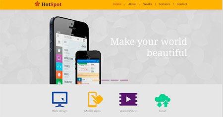 Clean Minimal Website Template