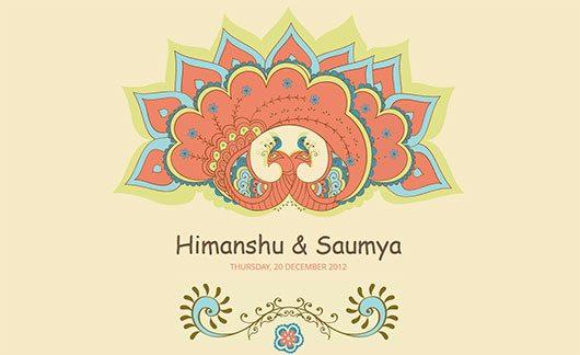 Himanshu and Saumya