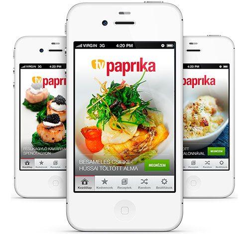 TV Paprika iPhone application