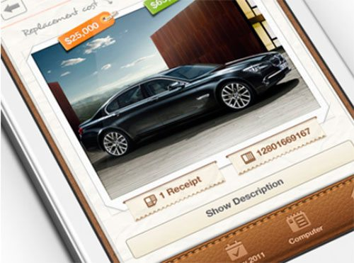 Getbelongings iphone app by zee7