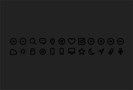 24 Free Icons by Michael Dolejš