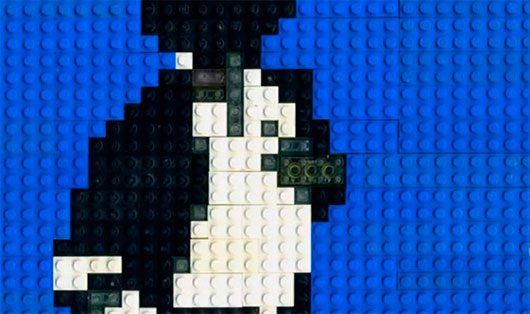 LEGO Animation: Incredible Michael Jackson Street Dance LEGO Style