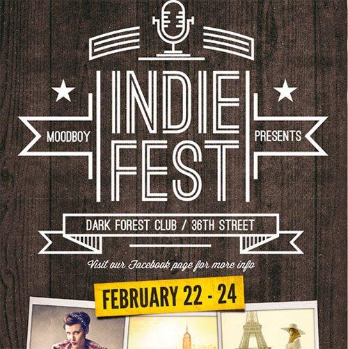 Indie Fest Flyer