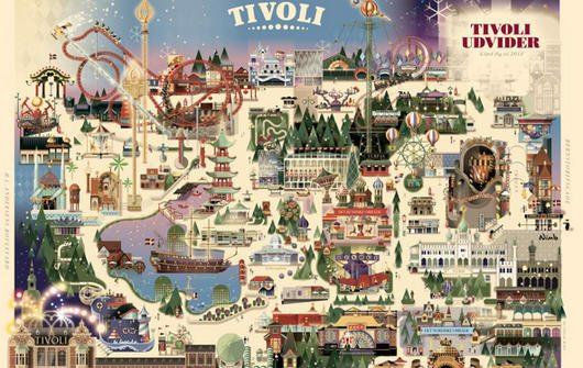 Copenhagen Tivoli - Christmas park