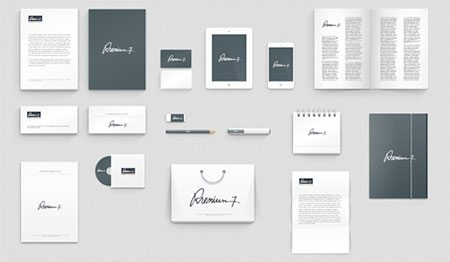 Corporate Identity Photoshop Mock-up