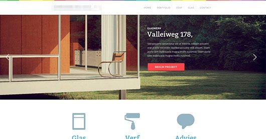 New project layout by Pieter van Est