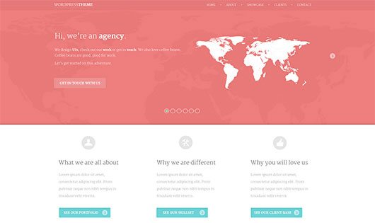 Flatty WordPress Theme by Balraj Chana