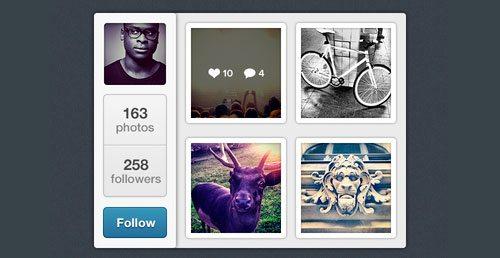Mini Instagram by Timothy