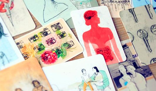 Anne van den Berg Illustraties ➳ New business cards