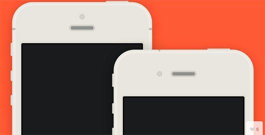 iPhone 5/4S flat