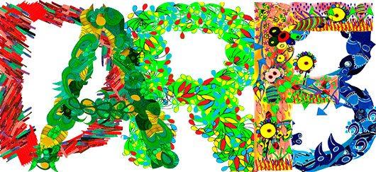 Alphabet by Hand Diego Zurita