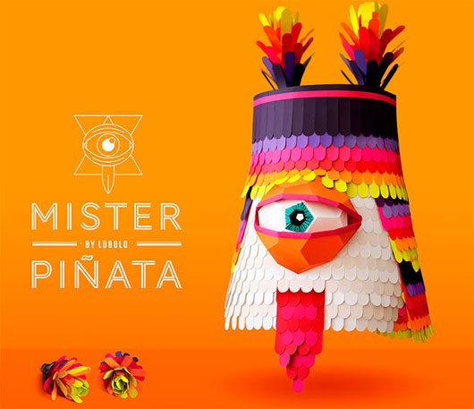 Mr. Piñata by Lobulo Design