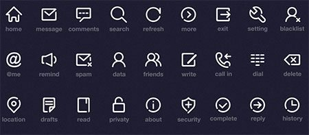 Simple Icon PSD by Onlyoly