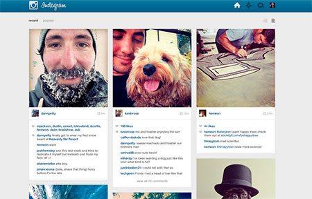 Instagram - 3 PSD set