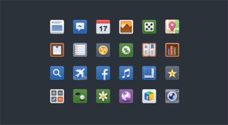 New Facebook Icons Freebie by Shota