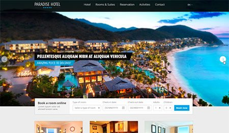 Hotel Web Template