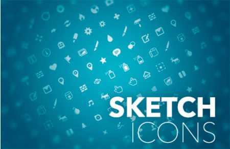Sketch icon set by Pausrr by Pausrr