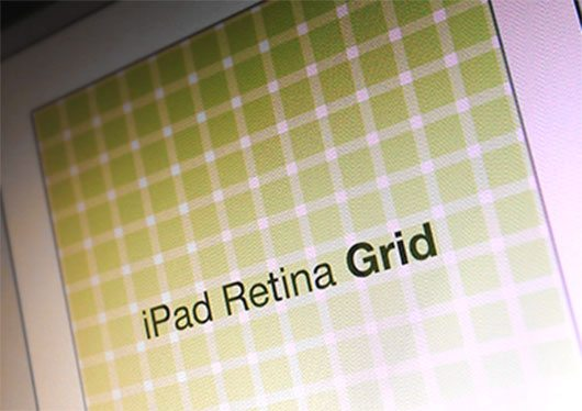 Ipad Retina Grid by Bryan Leung