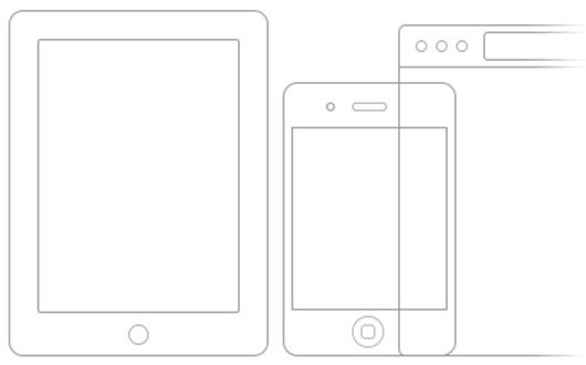 Minimal iOS/Browser Frames (Free PSD) by Visual Idiot