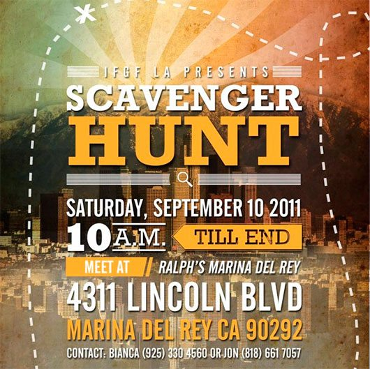 Scavenger Hunt Poster by Beverly Hartono