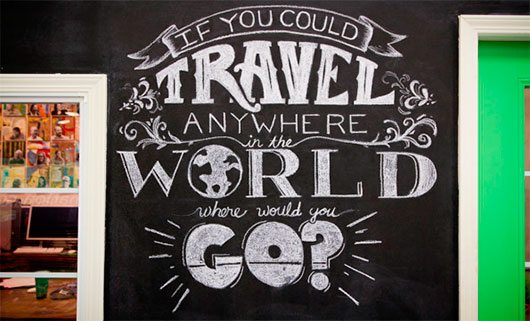 If You Could Travel Anywhere by Ryan Lee