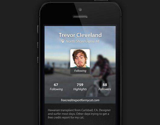 Lightt iPhone App by Dann Petty