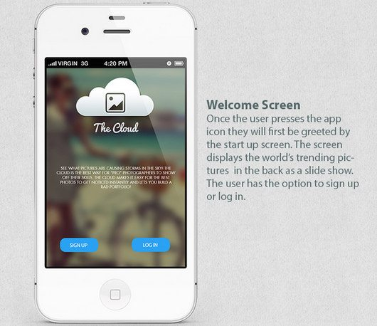 The Cloud Photo App by Zahir Ramos