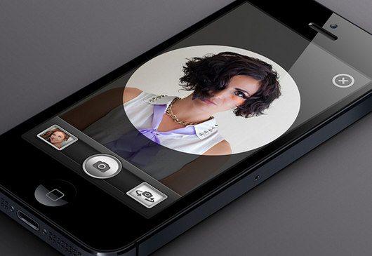 Camera UI by Justin Graham