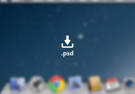 Mac Os + Google Chrome GUI PSD by Julien Perrière