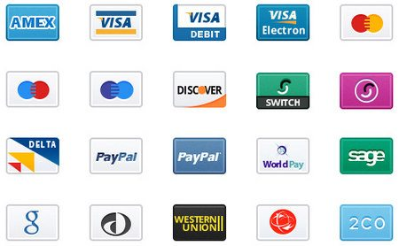 Credit Card Icons 2x by MediaLoot