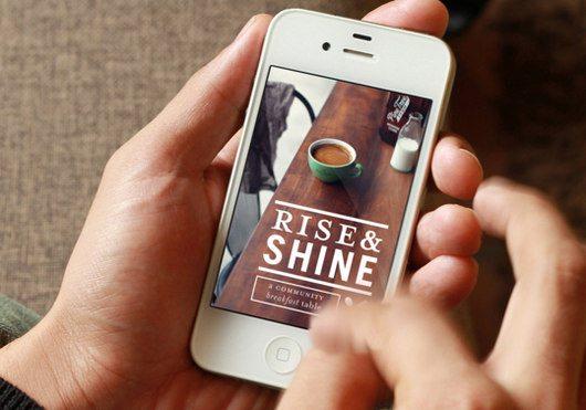 Rise & Shine App by Anna DeFazio