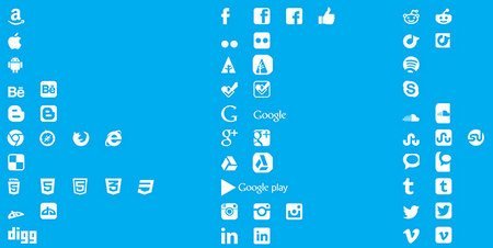 Social Media Icons by Luke Taylor