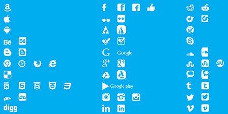 Social Media Icons by Luke Taylor