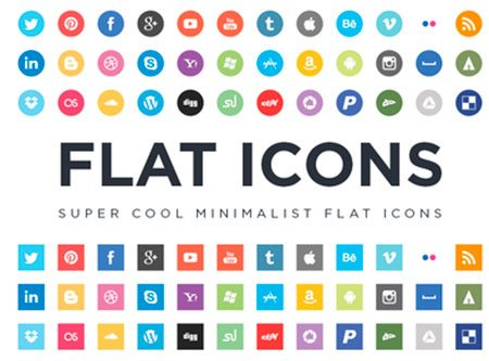 Flat Icons EPS by Jorge Calvo