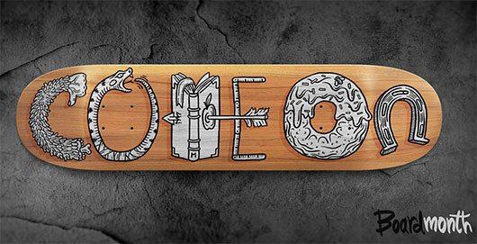 Board#6 by Alex Kurchin Hattomonkey