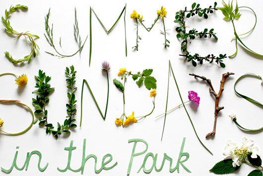 Summer Sundays Poster by Nina Max Daly