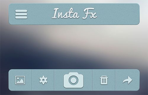User Interface Freebie by Barry Mccalvey
