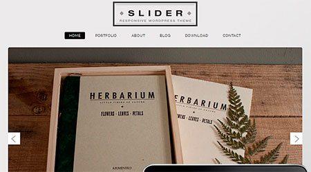 Slider Responsive Theme