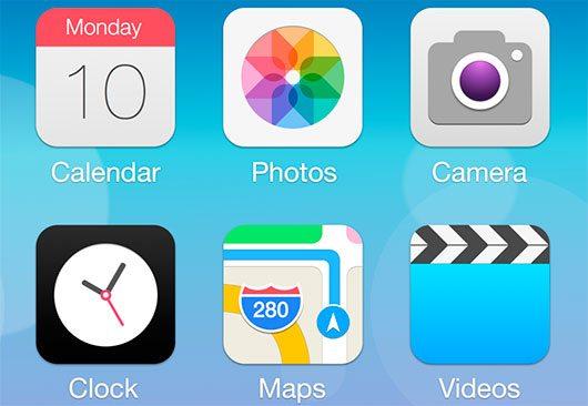 iOS 7 Redesign by Ida Swarczewskaja