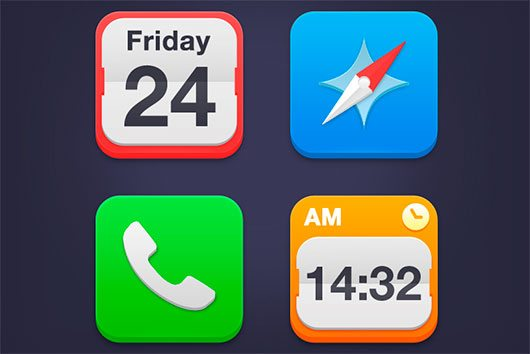 iOS7 Icons by Álvaro Carreras