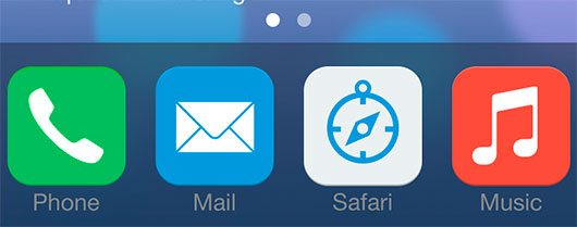 iOS 7 icons by Sameer Ahmed