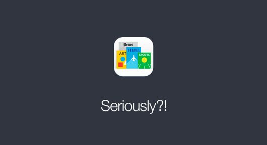 iOS 7 Newsstand Icon by Min Ming Lo