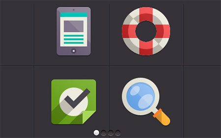 Flat Design Icons Set Vol4