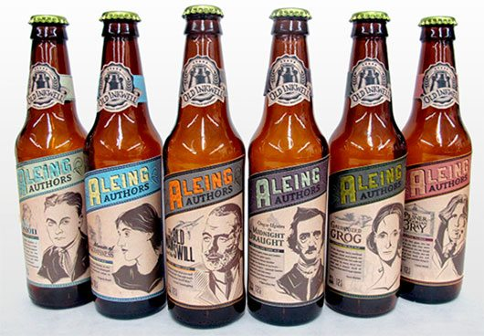 Aleing Authors Craft Beer
