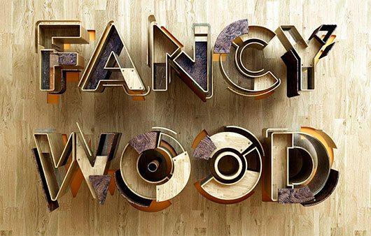 Fancy Wood is a Fancy Mood by Benoit Challand
