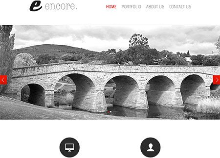 Encore PSD by aprildesign
