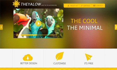 THEYALOW – Website Template
