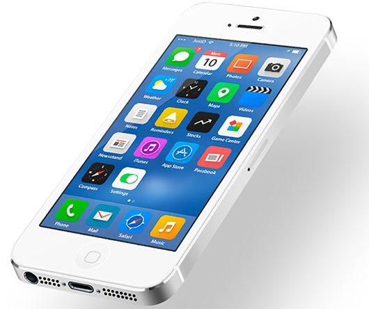 iOS 7 - Home Screen Redesign by Dmitry Kovalenko